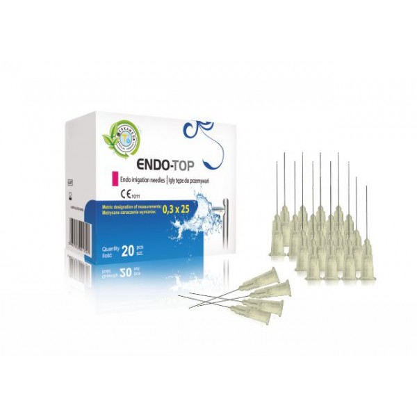 ENDO-Top irrigation needles 20pcs. Size 0.3x25
