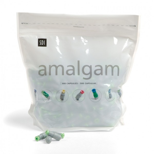 GS-80 Admix 1 Spill 400mg Regular Caps. Amalgam 500pk