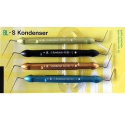 BL-S Kondenser L Set of 4 Hand pluggers - New Long version