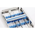Sterilisation and storage tray cassette 10 instruments