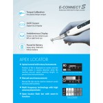 Endodontic motor with integrated Apex Locator: E-Connect S