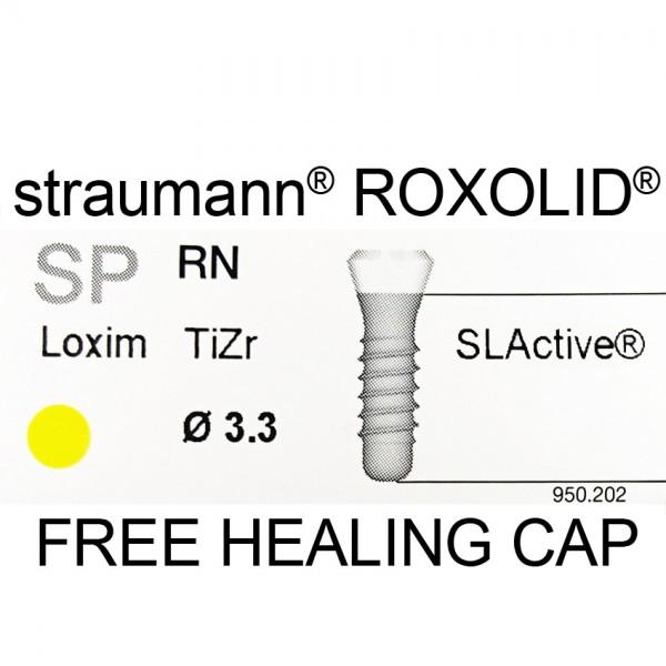 Straumann Roxolid SP  Ø3.3 mm RN SLActive Implant