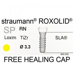 Straumann Roxolid SP  Ø3.3 mm RN SLA Implant