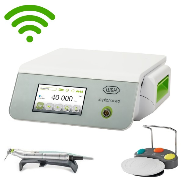 W&H Implantmed Motor System WiFi & handpiece