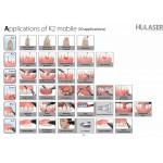 K2 mobile Wireless Dental Diode LED Laser