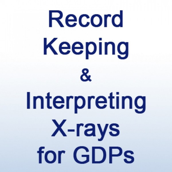 Record Keeping and Interpreting X-rays - Hands On
