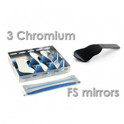 Photo mirrors kit 1 (3 mirrors, cassette, contrastor)