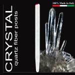 Crystal Quartz Fibre Light Posts size: 1.2 (x10)