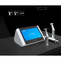2 in 1 Endodontic and Electric LED Touchscreen Motor with 2 handpieces