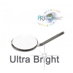Mouth Mirror Pure Reflect Size 4 Ø 22mm Ultra Bright - 12pcs