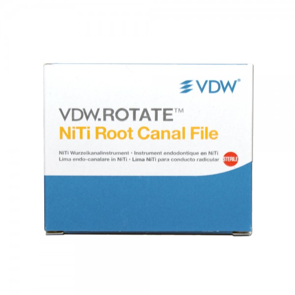 VDW ROTATE NiTi Rotary root canal files