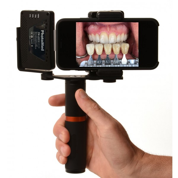 PhotoMed SDL - Smartphone Dental Light + Diffusers