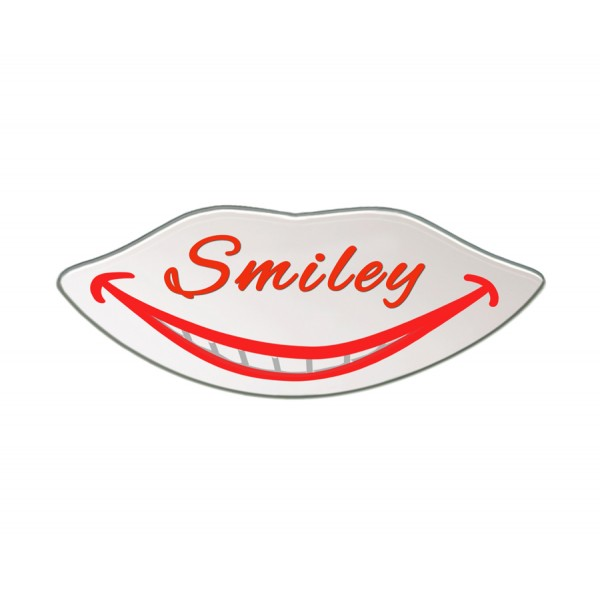 """""""Smiley"""" mirror for patients and for occlusion pictures"""