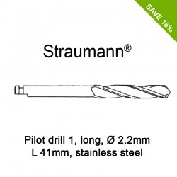 Straumann Pilot Drill 1, long, Ø2.2mm, L41