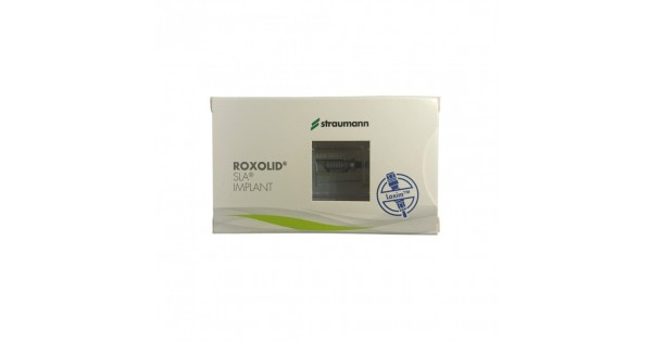 Straumann Roxolid BL Ø4 1 mm RC SLA Implant